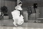 Ballet Folklorico dancer at Eastern Washington University