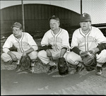 Catchers for the 1951 Eastern Washington College of Education baseball team by Eastern Washington College of Education. Associated Students.