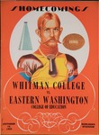Whitworth College versus Eastern Washington College of Education football program, 1955 by Eastern Washington College of Education. Associated Students