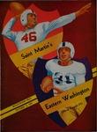 Saint Martin's College versus Eastern Washington College of Education football program, 1950 by Eastern Washington College of Education. Associated Students