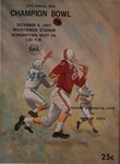 12th Annual NAIA Champion Bowl program, 1967 by unknown