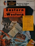 Western Washington State College versus Eastern Washington State College football program, 1968