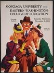 Gonzaga University versus Eastern Washington College of Education football program, 1941 by Eastern Washington College of Education. Associated Students
