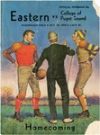 College of Puget Sound versus Eastern Washington College of Education football program, 1959 by Eastern Washington College of Education. Associated Students