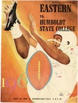 Humboldt State College versus Eastern Washington College of Education football program, 1960