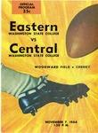 Central Washington State College versus Eastern Washington State College football program 1964 by Eastern Washington State College. Associated Students
