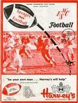 Western Washington State College versus Eastern Washington State College football program 1969 by Eastern Washington State College. Associated Students