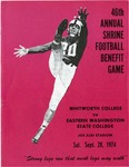Whitworth College versus Eastern Washington State College football program, 1974