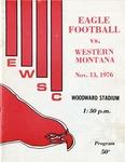 Western Montana College versus Eastern Washington State College football program, 1976 by Eastern Washington State College. Associated Students