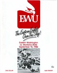 Montana State University versus Eastern Washington University football program, 1984