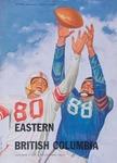 University of British Columbia versus Eastern Washington College of Education football program, 1954