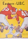 University of British Columbia versus Eastern Washington College of Education football program, 1956