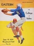 College of Idaho versus Eastern Washington College of Education football program, 1959