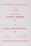 Scarlet Arrow Football Banquet program, 1953