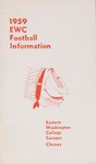 Eastern Washington College of Education football press guide, 1959