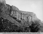 Hanging valley, Moses Coulee by Otis W. Freeman