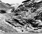 Hungry Horse Dam site by Otis W. Freeman