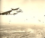 Parachutists by U.S.A. Army official photographer