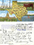 Texas postcard by U.S.A. Army official photographer
