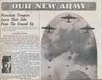 World War II newspaper clipping by Unknown