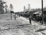 Troops arrival at Camp Mackall