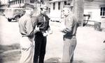 Lt. Col. Batcheller, Col. Gavin, and Brig. Gen. Keerans by Robert Gillette