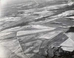Aerial photograph of a landing zone by U.S. Army Air Corps official photographer