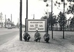 Three soldiers of the 505 Parachute Infantry