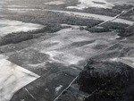 Parachute landing zone by U.S. Army Air Corps photographer