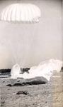 Parachutes on landing