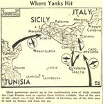 Gillette and the Invasion of Sicily by Unknown