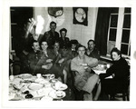 Servicemen and servicewomen at S-2 Party prior to Normandy