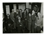 Group portrait at S-2 Party prior to Normandy by Robert Gillette