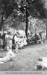 Kahlotus grade school picnic by Barbara Hamre Fahlgren