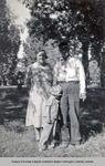 Elledge Family at Kahlotus grade school picnic. by Barbara Hamre Fahlgren