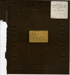 George Lotzenhiser scrapbook, 1941-1942, cover by George W. Lotzenhiser