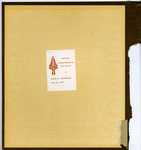 George Lotzenhiser scrapbook, 1941-1942, cover verso
