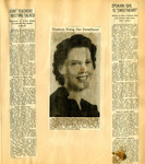 George Lotzenhiser scrapbook, 1941-1942, page 25