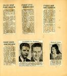 George Lotzenhiser scrapbook, 1941-1942, page 61