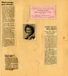 George Lotzenhiser scrapbook, 1941-1942, page 78