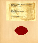 George Lotzenhiser scrapbook, 1941-1942, page 87