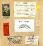 George Lotzenhiser scrapbook, 1941-1942, page 93