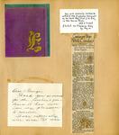 George Lotzenhiser scrapbook, 1941-1942, page 96