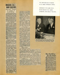 George Lotzenhiser scrapbook, 1945-1947; 1961-1965, page 1