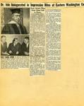 George Lotzenhiser scrapbook, 1945-1947; 1961-1965 page 4 by G. W. (George W.) Lotzenhiser