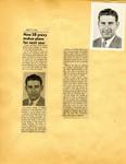George Lotzenhiser scrapbook, 1945-1947; 1961-1965 page 13 by G. W. (George W.) Lotzenhiser
