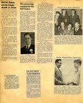 George Lotzenhiser scrapbook, 1945-1947; 1961-1965 page 39 by G. W. (George W.) Lotzenhiser