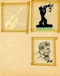 George Lotzenhiser scrapbook, 1945-1947; 1961-1965 page 72