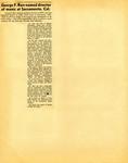 George Lotzenhiser scrapbook, 1945-1947; 1961-1965 page 73