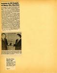 George Lotzenhiser scrapbook, 1945-1947; 1961-1965 page 89